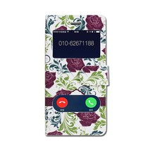 Flower Flip Cover mobile phone leather case for samsung s3 mini i8190