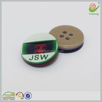 fashion desgin candy plastic button children alphabet button for garments buttons