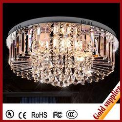 Ornamental energy saving crystal lace ceiling lamp