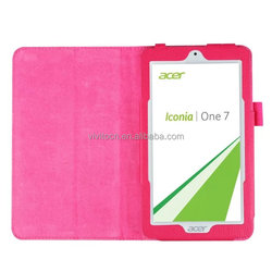 New arrival book style flip pu leather case cover for Acer Iconia One B1-770