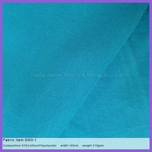 function of moisture absorption and sweat releasing interlock knit fabric for T-shirt