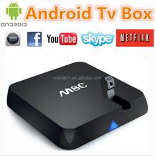 M8C Quad Core Android 4.4 Smart TV Box Mini PC m8c android tv box