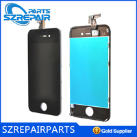 For Apple iphone 4 4S 5 5s colors lcd screen repair glass