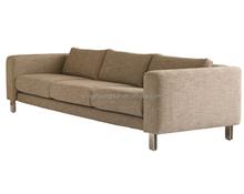 luxury italian fabric sofa velvet sofa classic style HDS1433