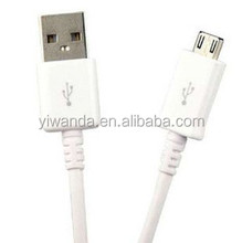 USB data charging cable extension for sumsang V8 and Android smartphone
