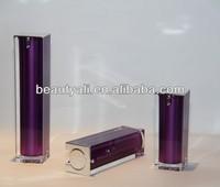 Luxury Square Acrylic Cosmetics Container 15ml 30ml 40ml 50ml 80ml 100ml 120ml