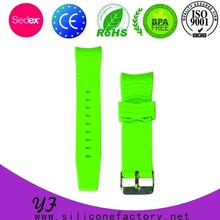 multipurpose natural silicone watch strap for watches
