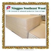 plain thin thickness mdf decorative patterned hardboard