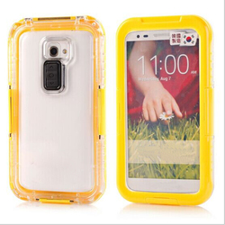 Shockproof Protective 8 Meter Waterproof Case for LG G2 with Retail Packaging
