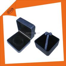 high quality custom logo velvet jewellery box for bangle ,pendant