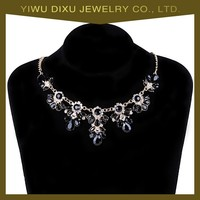 Newest!2015 fashion latest Rhinestone pictures of fashion necklaces factory price wholesale china yiwu for women