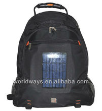 17 inch high-grade solar computer bag,solar charge laptop backpack