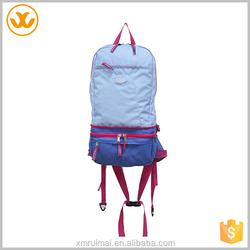 Fashion outdoor custom double shoulder strap sport backpack type bag