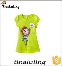 Wholesale baby fashion t-shirt kids short sleeve tees baby fashion t shirts