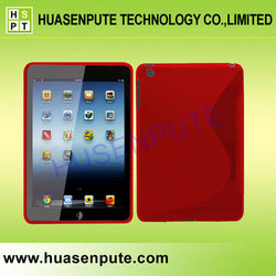 New Product S Line Wave Skin Cover Cases For Apple iPad mini