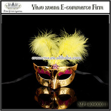 2015 Golden Theme Party Mask Custom Party Masks