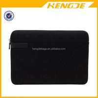 2015 black neoprene 13 Inch Laptop pouch sleeve