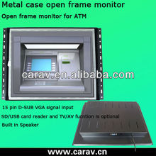 "To Amercia/Canada/UK 17""Industrial open frame lcd monitor(CE,FCC,ROHS)"