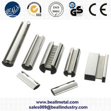 polished 304 316 slotted stainless steel pipe manufacturer