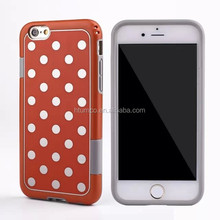 Newly design premium cover case, PC+TPU case, phone case cover for iphone 6/ iphone 6plus