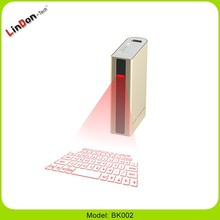power bank Virtual Laser Keyboard 5200mAh Red Infrared Bluetooth Projection Keyboard google . com wireless keypad