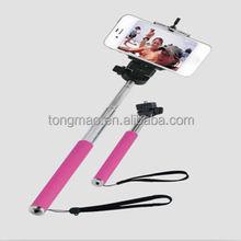 Excellent Quality Adjustable Handle Self Portrait Shooting Stick For Mobile Phone & Digital Camera