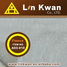 Taiwan LK A03-010 double face polor fleece knitted fabric fiber polyester