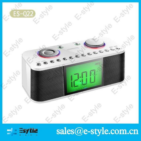 2015 china factory clock radio with usb tf speaker buy clock radio usb alar. Black Bedroom Furniture Sets. Home Design Ideas