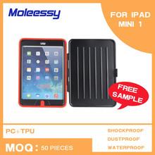 3-layers protective case mini for ipad mini3 with kickstand