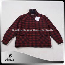China wholesale websites cheap plaid jacket team