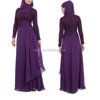 Alibaba OEM china supplier abaya latest design long sleeve islamic muslim dress