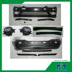 AUTO BODY KITS FOR MERCEDES BENZ C CLASS W203 C32 AMG STYLE 2000~2007 FRONT BUMPER + REAR BUMPER + SIDE SKIRT