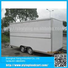 YY-FS420 Wholesale china factory mobile trailer food cart kiosk food car