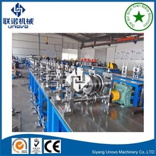 Selective Pallet cold sheet steel metal upright/column roll forming machine equipment