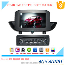 """7""""special touch screen for PEUGEOT 308 Car radio with DVD Player GPS navigation bluetooth RDS SD"""