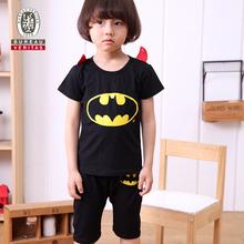 Crianças meninos roupas 2013 vivo bat cosplay conjuntos de roupas de bebê ternos do esporte