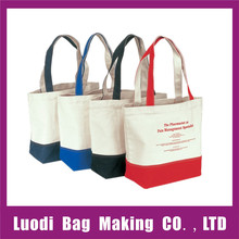 Wholesale reusable trendy canvas shopping bag,cotton tote bag,cotton shopping bag