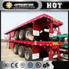 JAC 3 axles semi trailer tank truck heavy duty military truck Trailer factory price sale