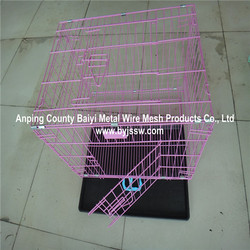 Pet Cage , Foldable Dog Crate ,PVC Coated Dog Kennel Wholesale