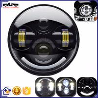 BJ-HL-015 Wholesale Round LED Headlight Motorcycle for Harley