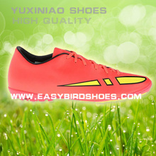 young fashion indoor soccer shoes for sale, cheap chinese football shoes soccer sport men women