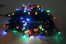 decorative combination for garden outdoor led light string