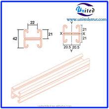 41mm*41mm D02 Roll Forming HDG strut channel Guangzhou building materials Manufacturer