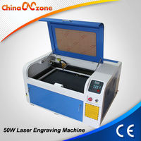 Hot Sale !! XB-460 50W CO2 Laser Machine to Cut Glass Bottles