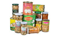Canned mushroom or another canned food list