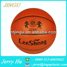 high quality Imported microfiber composite PU leather basketball for match or practice
