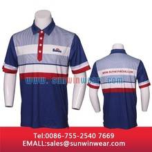 custom high quality slim golf polo t-shirt for lovers