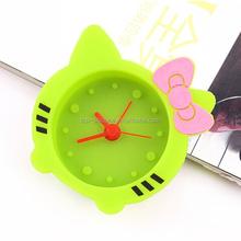 Lovely hello,kitty cartoon desk alarm clock