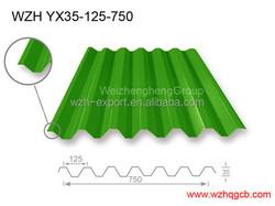 Lowes Asphalt Galvanized machines metal sheet roofing price