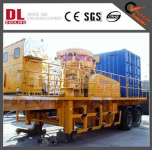 DUOLING BEST STONE WHEEL MOUNTED MOBILE CRUSHING AND SCREENING PLANT